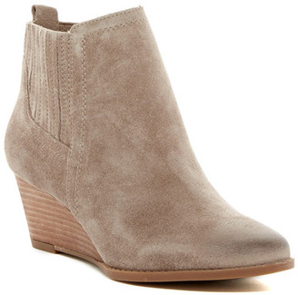 Franco Sarto Wayra Wedge Bootie - Wide Width Available $129 thestylecure.com