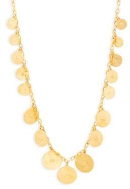 Ben-Amun Gold Coins Necklace