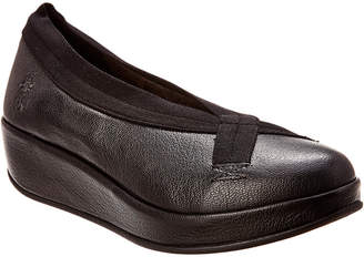 Fly London Bobi Leather Wedge