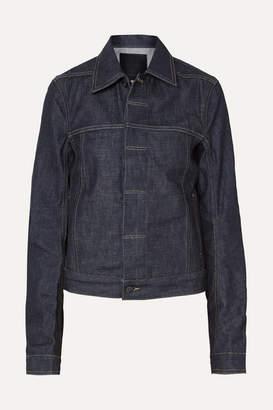 Rick Owens Denim Jacket - Dark denim