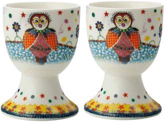 Maxwell & Williams Smile Style Boobook Egg Cup (Set of 2)