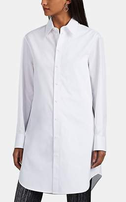 Maison Margiela Women's Cotton Poplin Tunic Blouse - White