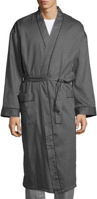 Robert Graham Men's Delta Wing Terry Lined Kimono