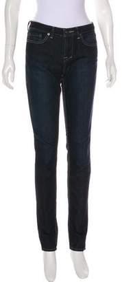William Rast Mid-Rise Skinny Jeans