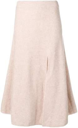 Altuzarra ribbed knit midi skirt