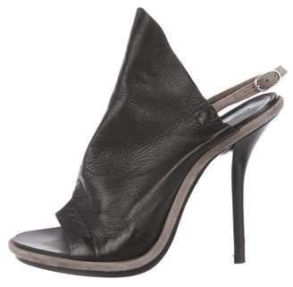 Balenciaga Glove Slingback Sandals