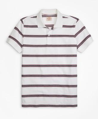 Brooks Brothers Rope Striped Jacquard Polo Shirt