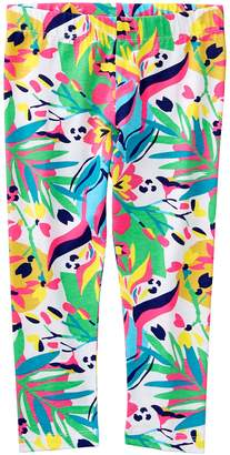 Crazy 8 Crazy8 Tropical Capri Leggings