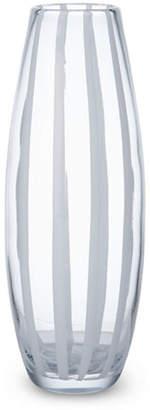 Mikasa White Ribbon Vase