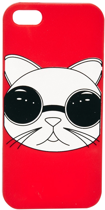 Asos Jelly iPhone 5 Case With Cat Print
