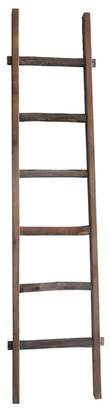 SAGEBROOK HOME Wooden Decorative Ladder