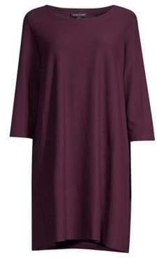 Eileen Fisher Scoop T-Shirt Dress