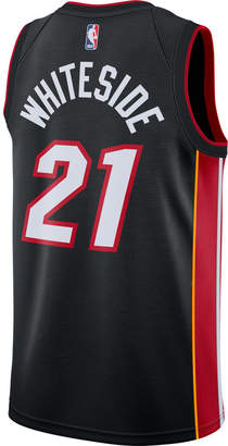 Nike Men's Miami Heat NBA Hassan Whiteside Icon Edition Connected Jersey