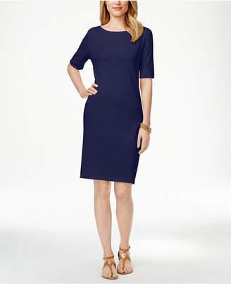 Karen Scott T-Shirt Dress, Created for Macy's $44.50 thestylecure.com