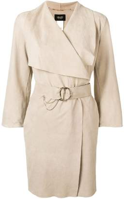 Liu Jo belted double breasted coat