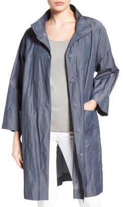 Women's Eileen Fisher Organic Cotton Blend Coat $398 thestylecure.com