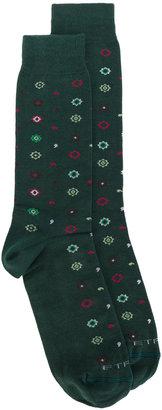 Etro floral pattern socks $60 thestylecure.com