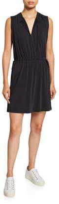 Club Monaco Tie-Waist Sleeveless Dress