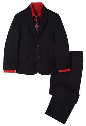 Nautica Plaid Printed Tie 4-Piece Suit (Toddler & Little Boys)