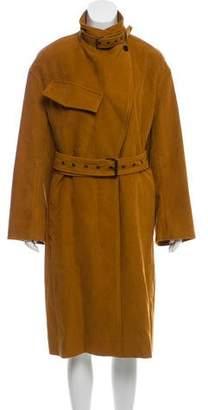 Isabel Marant Belted Longline Coat