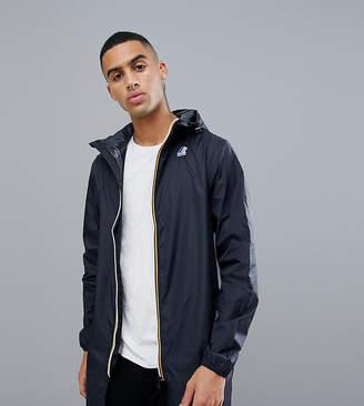 K-Way K Way Le Vrai 3.0 Eiffel waterproof jacket in black