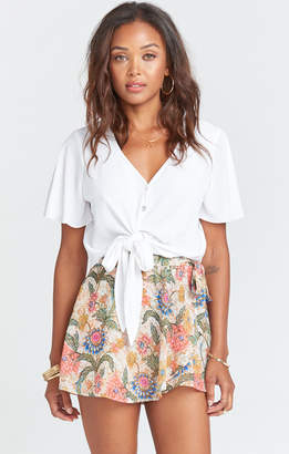 Show Me Your Mumu The Great Wrap Shorts ~ Bloomtastic