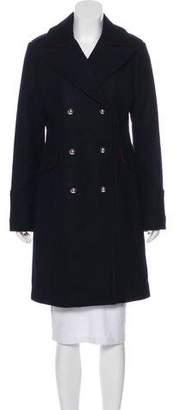 MICHAEL Michael Kors Wool-Blend Knee-Length Coat