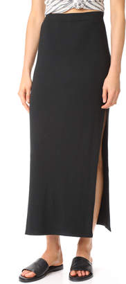 BB Dakota Jack by BB Dakota Mattison High Slit Skirt $55 thestylecure.com
