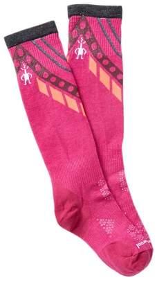 Smartwool PhD Ski Ultra Light Pattern Knee Socks