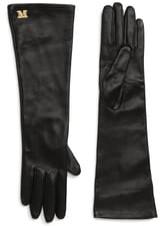 Max Mara Appia Long Leather Gloves
