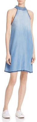 Bella Dahl Whipstitched Chambray Dress $150 thestylecure.com