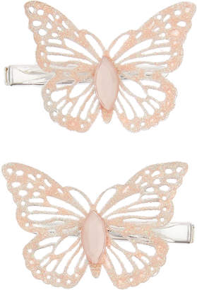 Monsoon 2x Effie Sparkle Butterfly Hair Clips