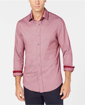 Tasso Elba Men Birdseye Shirt