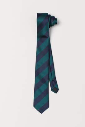 H&M Striped Tie - Green