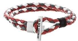 Ben Sherman Men's Braided Leather Bracelet