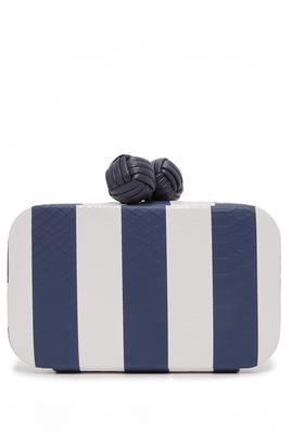 Sam Edelman Bailey Striped Clutch $128 thestylecure.com