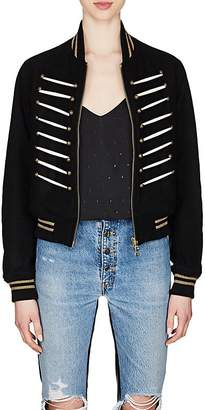 "Amiri Women's ""Forever"" Wool-Blend Bomber Jacket"