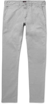 J.Crew Slim-Fit Stretch-Cotton Twill Chinos - Gray
