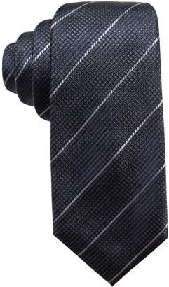 Alfani Men's Slim Stripe Silk Slim Tie, Created for Macy's