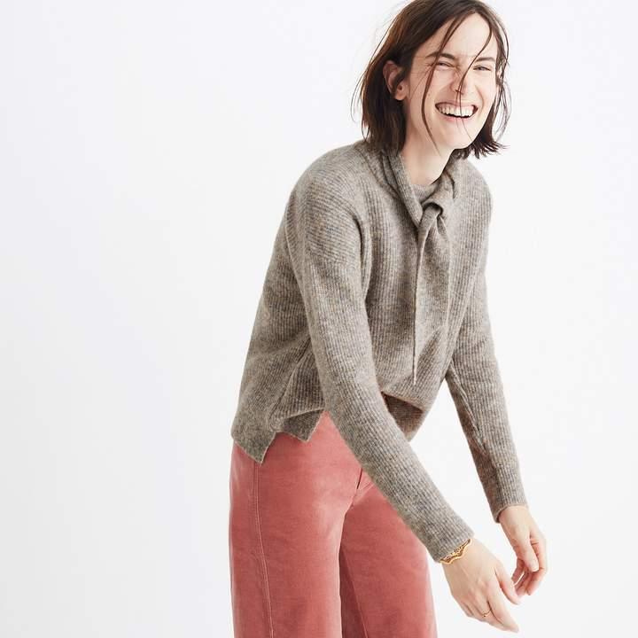 Scarf Sweater Set