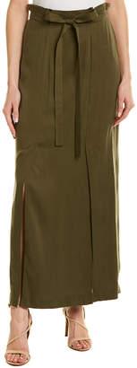 BCBGMAXAZRIA Tie-Waist Skirt