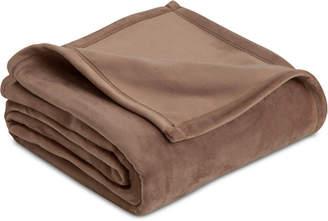 Vellux Plush Knit Twin Blanket Bedding