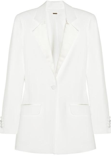 ADAM by Adam Lippes Bar crepe tuxedo jacket
