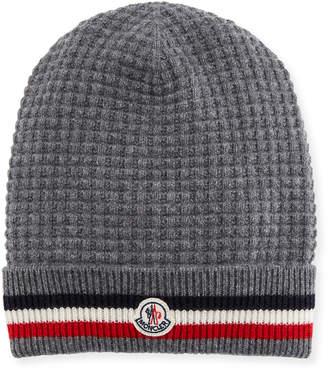 c77a801b79c Moncler Men s Tricot-Knit Beanie Hat