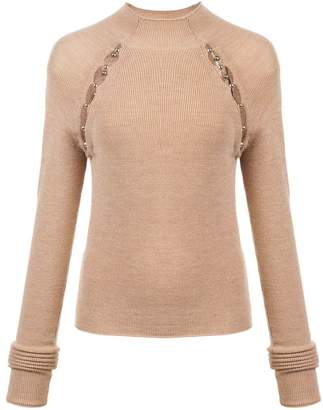 Alice + Olivia Alice+Olivia slit detail sweater