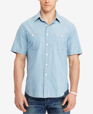 Polo Ralph Lauren Men's Big & Tall Chambray Shirt $89.50 thestylecure.com