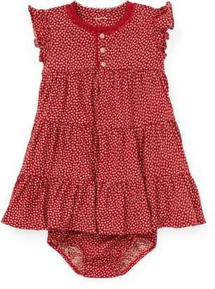 Ralph Lauren Tiered Floral Cotton Dress