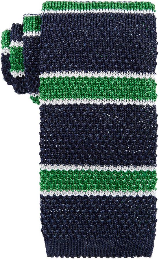 Brooks Brothers Brooks Brothers Men's Horizontal Knit Stripe Tie