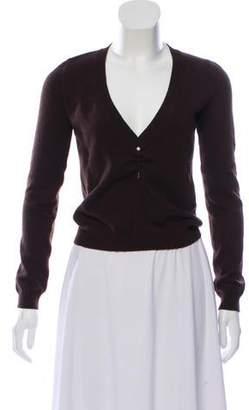 Valentino Virgin Wool & Cashmere-Blend Knit Sweater