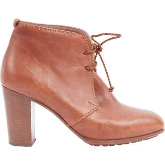 Missoni Leather lace up boots